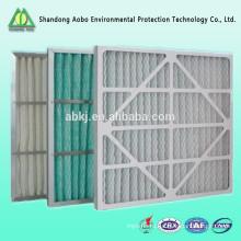Сайту aobo Профессиональный подгонянные плиссированный воздушный фильтр панели