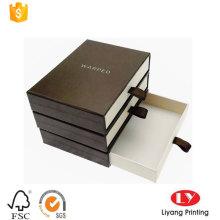 Gaveta manga deslizante caixa de gravata borboleta personalizada
