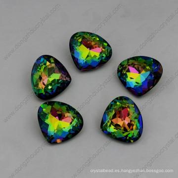 Piedras de fantasía de colores piedras cuentas de diamantes de imitación