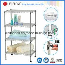 Ajustable de metal cromado de alambre baño de lavado toallero de la toalla (cj-c1187)
