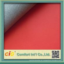 China-Qualitäts-PU beschichtetes Leder