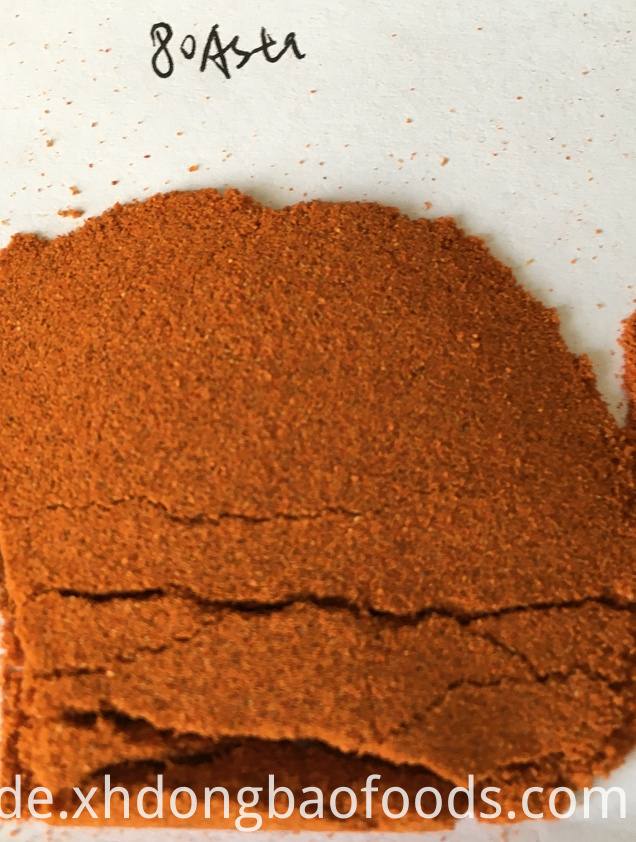 Dried Red Paprika ASTA60