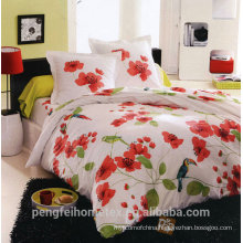 Polyester microfiber fabric for bedding sheet with great quality