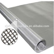 Plain weave silver wire mesh