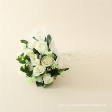 Low prices plastic flower manufacuring , factory plastic flowers with cheapest price, plastic flowers with MOQ 10pcs