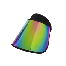 Rainbow visor hiking golf visor hat