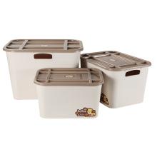 Творческий ящик для хранения пластиковых твердых материалов для хранения (SLSN064)