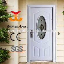 Puertas de entrada clásicas de estilo europeo con vidrio