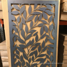 Decorative laser cut artistic 6ft by 6 ft outdoor artificial maintenance free gates
