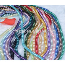 Good quality loose glass pearl for garment,pearl jewelry in bulk