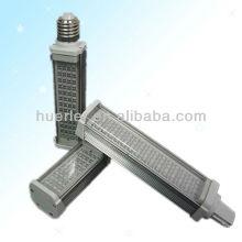 10w smd5050 gx24q LED PL avec conducteur isolé