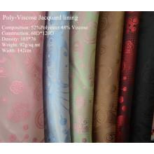 Poly-Viscose Jacquard for Garment Lining