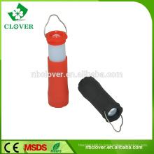 3 * AAA batterie 1W flexib Lumière de camping télescopique conduit, chalumeau, lanterne de camping