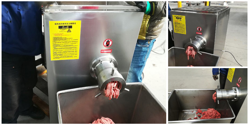 Meat Block Mincer Grinder