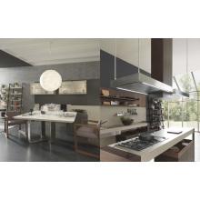 Pole Chipboard Melamine Kitchen Cabinet