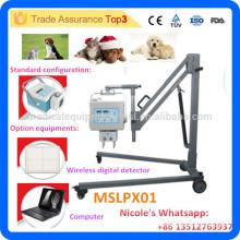MSLPX01-I 4.0kw haute fréquence équipement de rayons X vétérinaire