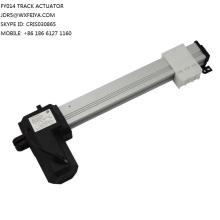 12/24V DC 100kgs fuerza 36mm/S velocidad 700 mm trazo lineal actuador de elevación de TV