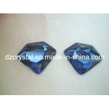 Vidro Moda Azul Jóias Acessórios