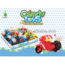 Pull Back Motorcycle candy toys