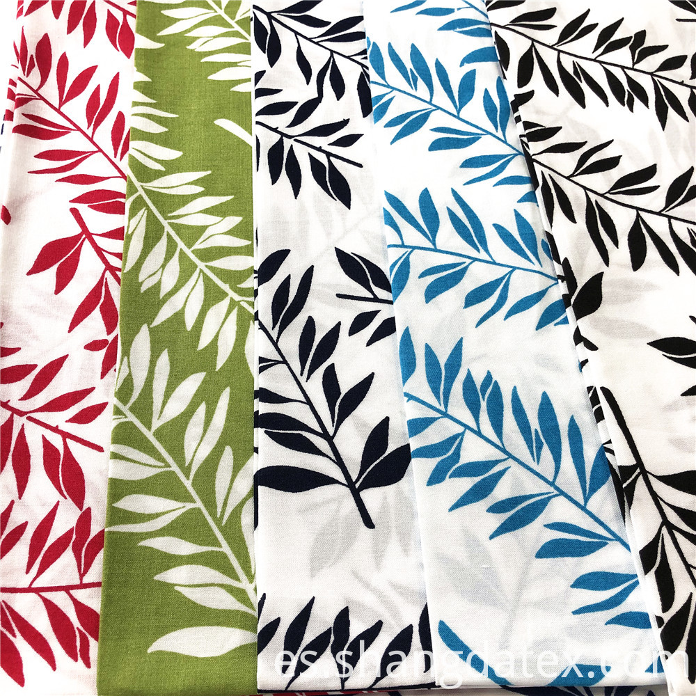 White Background Rayon Prints