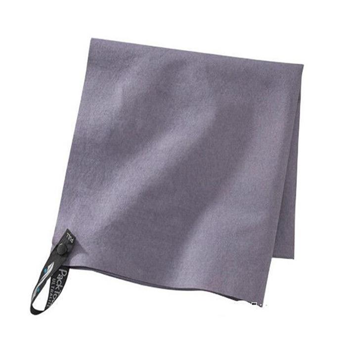 printing logo microfiber suede towel