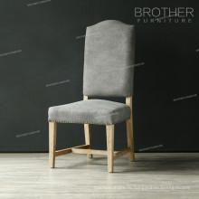 Самые популярные ткани ворсовые Стиль эргономичный Дуб Обедая стул