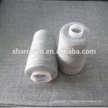 1 / 28NM 80% laine 20% fil de nylon pour les châles de tissage