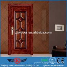 JK-SW9203 Стальные деревянные двери для квартирных дверей Цены для Румынии