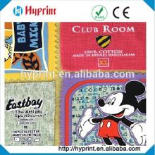 cuidados de impressos personalizados tags etiquetas de roupas