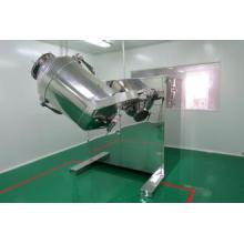 Maquinaria farmacéutica Mezclador de cono cuadrado con tolva de elevación