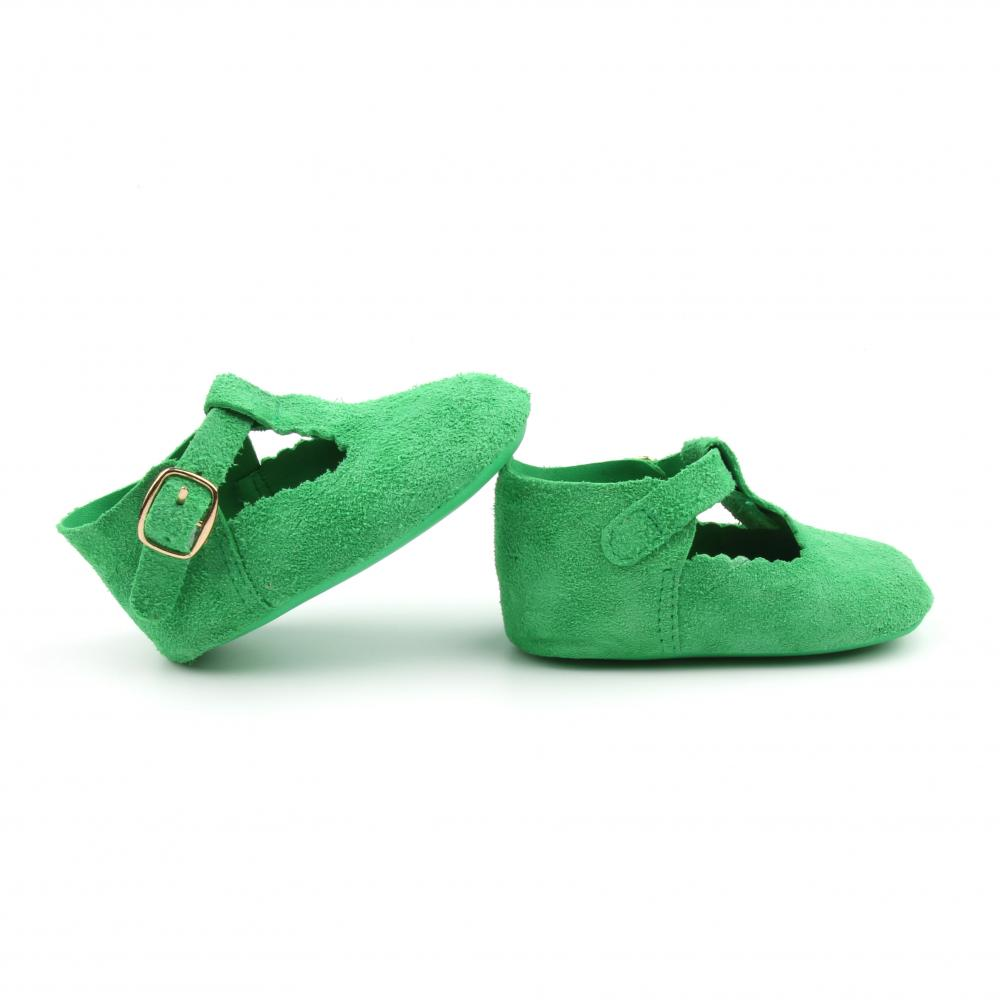 Green T Bar Shoes