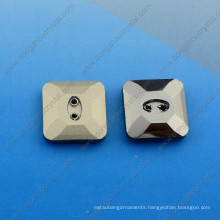 Loose Garment Stone Crystal Button Square Shape