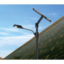Lampe de rue solaire 15W avec panneau solaire, contrôleur et batterie