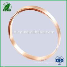prata folheados tira bimetálica de cobre da liga do metal