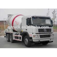 Camión mezclador de concreto Dayun 6X4 drive para 6-10 metros cúbicos