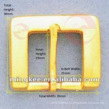 Cinturón rectangular / hebilla de bolsa (M14-208A)