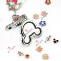 Pulseira de couro PU Locket para a decoração da forma das meninas (ZC-BL194-196)