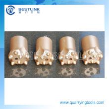 Made in China Quarrying pedra afilado broca bits de botão