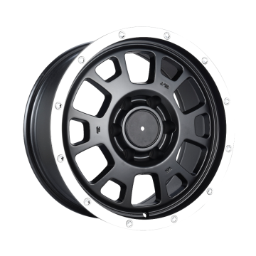 AM Custom Pickup Rims 17x8 Flat Black