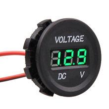 12 V-24 V Marine Auto Voltmeter LED-Licht Wasserdichte Spannung Meter