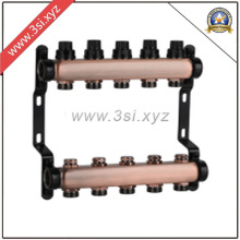 Copper Water Separator for Floor Heating System (YZF-M864)