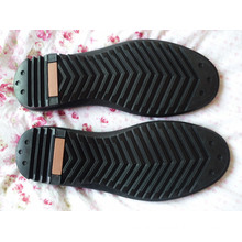 Men Leisure Sole Walking Sole Working Sole Driver Sole Leather Shoes Sole (YXX08)