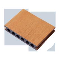 Waterproof composite wood grain floor for garden balcony