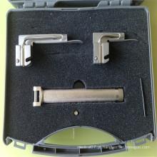 Laringoscópios de fibra óptica de aço inoxidável