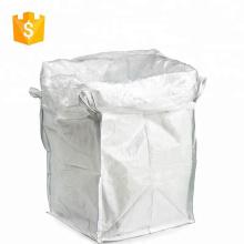 bolsas con corbata de lazo 1 ton pp bolsa grande de plástico para trigo de grano