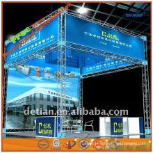 iluminação do telhado sistema de treliça de alumínio do fabricante do sistema de exibição treliça em Xangai China 001846