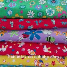 100% Polyeter Print Coral Fleece für Decke Flanell Stoff für Baby Jajamas