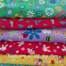 100% Polyeter Print Coral Fleece for blanket Flannel Fabric for Baby's Jajamas