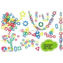 Baby play Desarrollar inteligencia de conectores de plástico de juguete