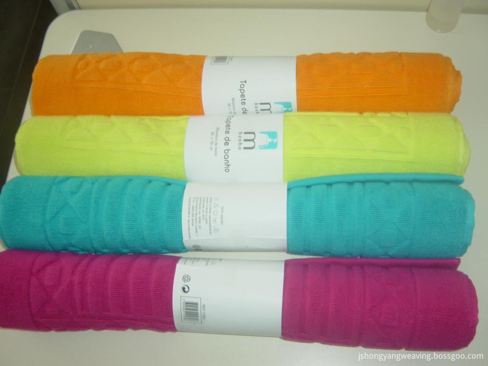 100%Cotton Bathroom Mat